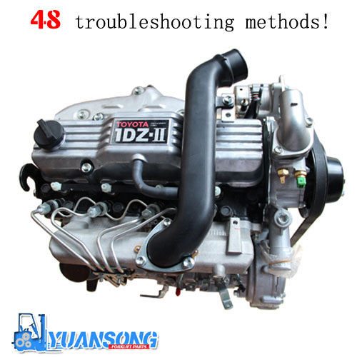 48 forklift engine troubleshooting methods!