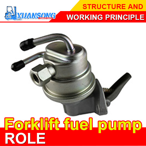 Forklift fuel pump role,structure and working principle