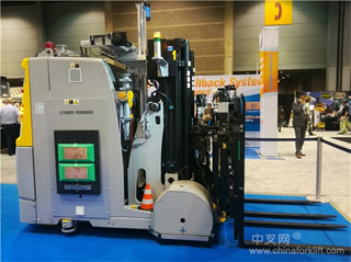 Industrial 4.0 era AVG intelligence storage forklift robot